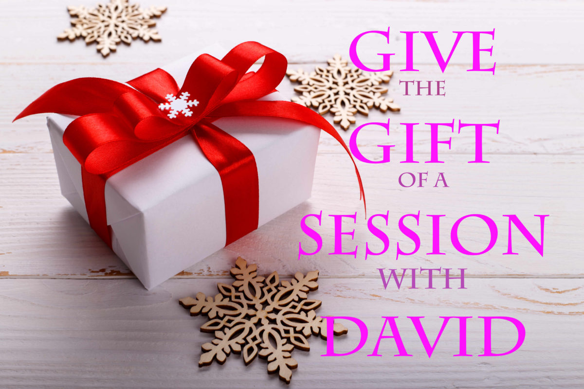 Happy Holidays gift session with David Zarza Psychic Medium & Intuitive Life Coach in Seattle