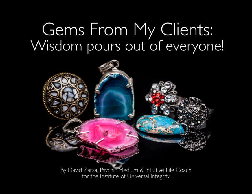 Wisdom from a psychic medium david zarza best in seattle intuitive life coach